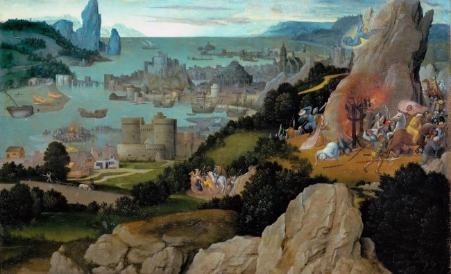 Martyrdom of Saint Catherine | Joachim Patinir | oil painting