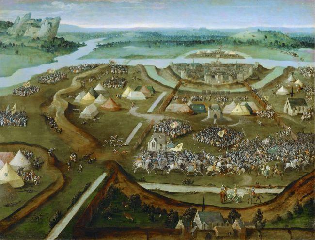 Battle of | Joachim Patinir | oil painting