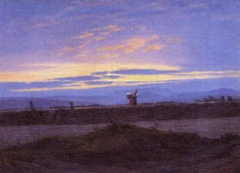 Elblandschaft (1823) | Caspar David Friedrich | oil painting