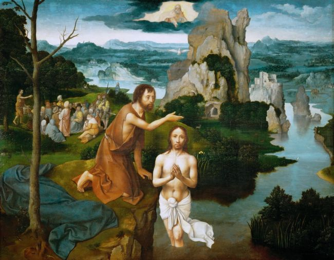 Baptism of Christ | Joachim Patinir | oil painting