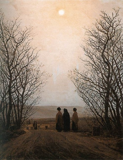 Easter Morning (1833) | Caspar David Friedrich | oil painting