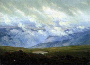 Drifting Clouds (1820) | Caspar David Friedrich | oil painting
