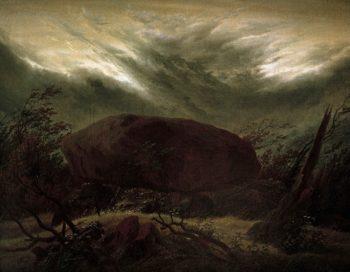 Dolmen in the Fall (1820) | Caspar David Friedrich | oil painting