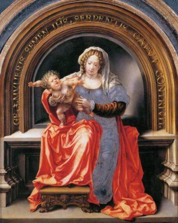 Madonna and Child | Jan Gossaert | oil painting