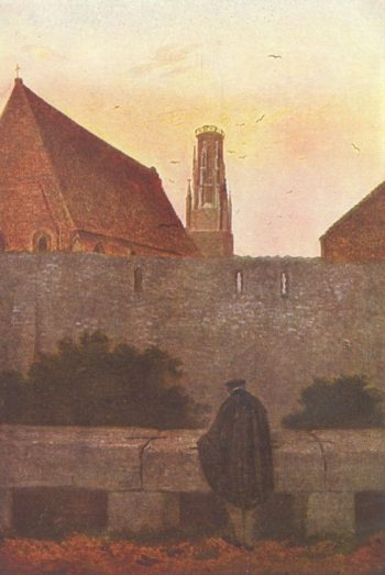 At the stadtmauer | Caspar David Friedrich | oil painting