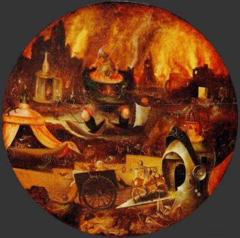 Hell   Herri met de Bles   oil painting