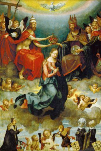 Coronation of the Virgin | Hans von Kulmbach | oil painting