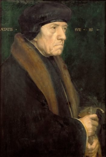 Dr John Chambers | Hans Holbein the Younger | oil painting