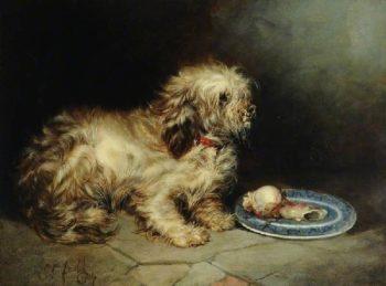Terrier | George Armfield | oil painting