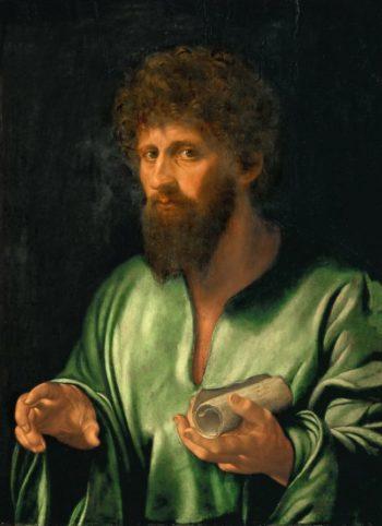 Philosopher | Giovanni Girolamo Savoldo | oil painting