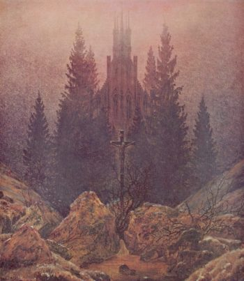 The Cross in the Mountains (1812) Museum Kunst Palast, Duesseldorf Caspar David Friedrich