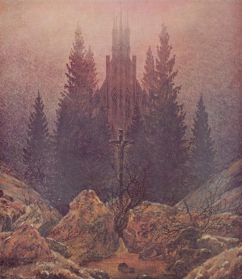 The Cross in the Mountains (1812) Museum Kunst Palast, Duesseldorf Caspar David Friedrich