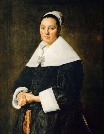 Portrait of a Woman | Frans Hals | oil painting