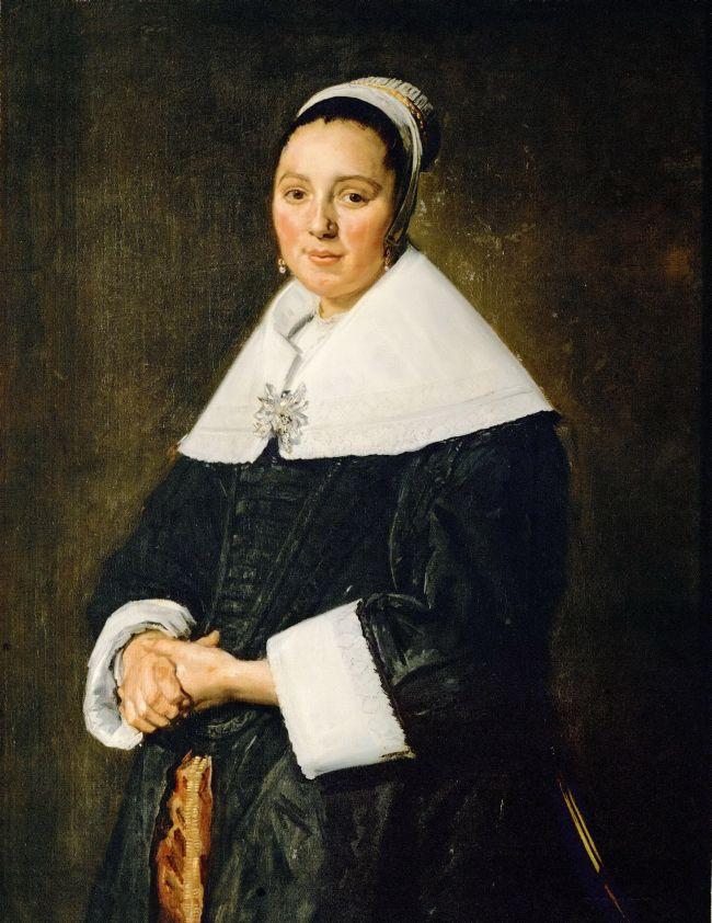 Portrait of a Woman   Frans Hals   oil painting
