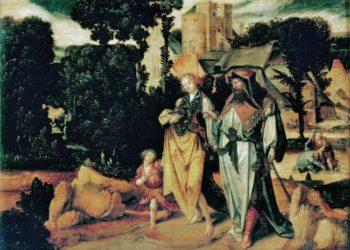 The Repudiation of Hagar | Cornelisz Lucas gen de Kock | oil painting