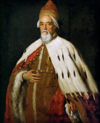 Doge Francesco Erizzo | Bernardo Strozzi | oil painting
