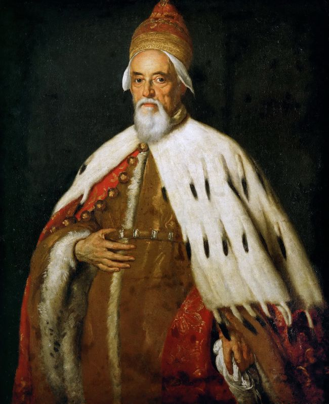 Doge Francesco Erizzo   Bernardo Strozzi   oil painting