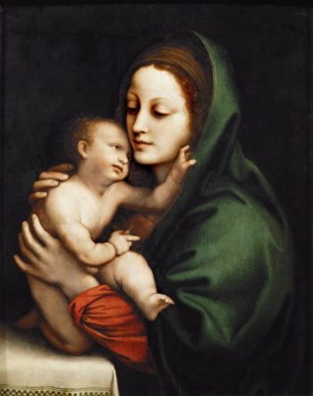 Madonna and Child | Bernardino Luini | oil painting