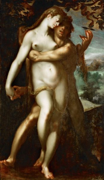 Venus and Adonis | Bartholomaeus Spranger | oil painting