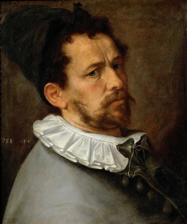 Self-portrait | Bartholomaeus Spranger | oil painting