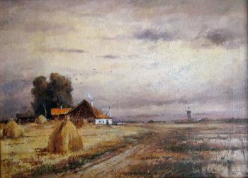 Autumn Landscape 1905 | Julius Klever | oil painting