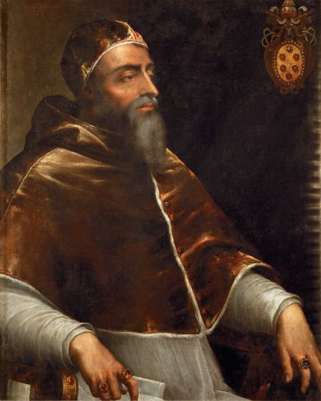 Pope Clement VII -Giulio de Medici | attributed to Sebastiano del Piombo | oil painting