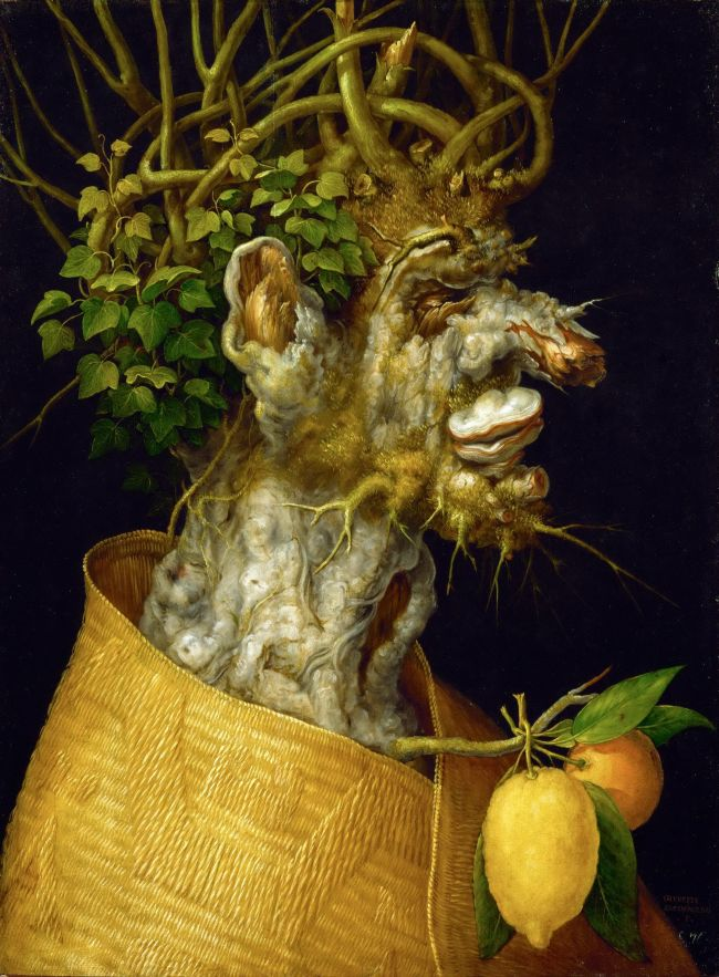 Winter allegory 1563 painted for Emperor Ferdinand I Limewood | ArcimboldoGiuseppe | oil painting