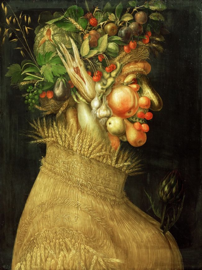 Summer allegory 1563 painted for Emperor Ferdinand I Limewood | Arcimboldo Giuseppe | oil painting