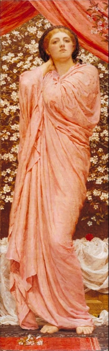 Blossoms | Albert Moore | oil painting