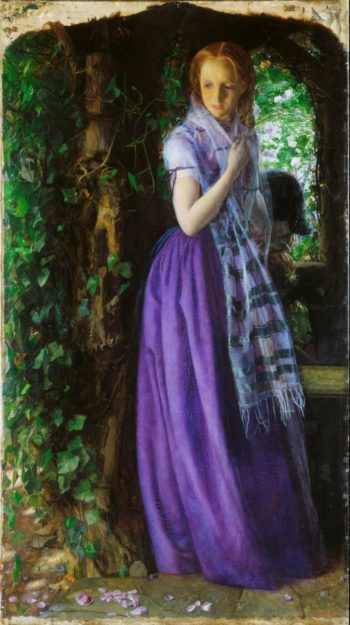 April Love | Arthur Hughes | oil painting