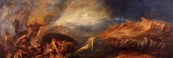 Chaos | assistants and George Frederic Watts | oil painting