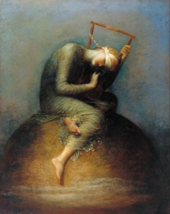 Hope | assistants and George Frederic Watts | oil painting