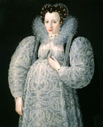 Portrait of an Unknown Lady | attributed to Marcus Gheeraerts II | oil painting
