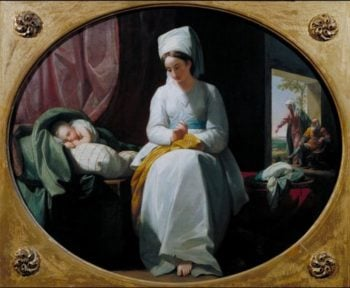 The Golden Age | Benjamin West | oil painting