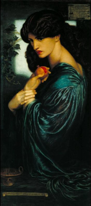 Proserpine | Dante Gabriel Rossetti | oil painting