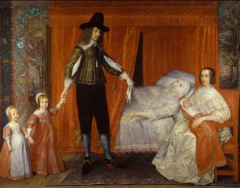 The Saltonstall Family | David Des Granges | oil painting