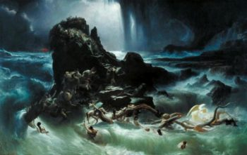 The Deluge | Francis Danby | oil painting
