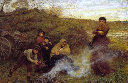 The Vagrants | Frederick Walker | oil painting