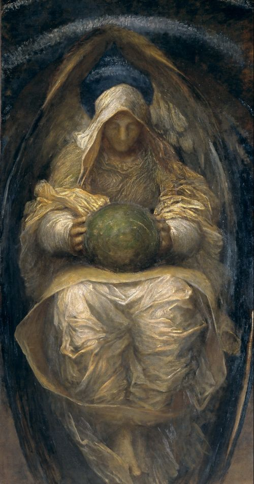 The All Pervading | George Frederic Watts | oil painting