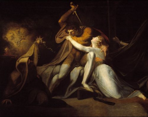 Percival Delivering Belisane from the Enchantment of Urma | Henry Fuseli | oil painting