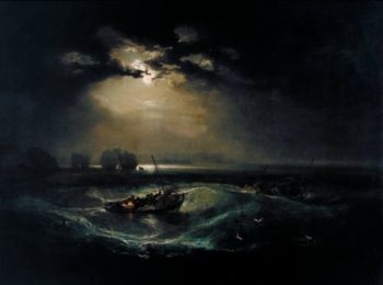 Fishermen at Sea | Joesph Mallord William Turner | oil painting