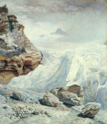 Glacier of Rosenlaui | John Brett | oil painting