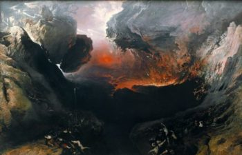 The Great Day of His Wrath | John Martin | oil painting