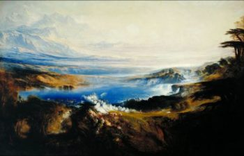 The Plains of Heaven | John Martin | oil painting