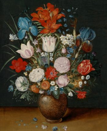 Bouquet of flowers in a vase | Jan Brueghel II (the Younger) | oil painting