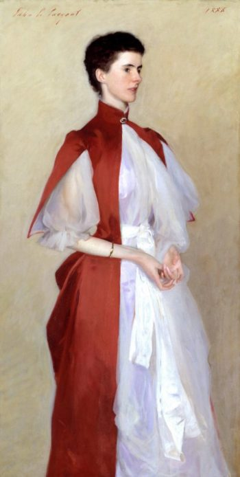 Portrait of Mrs Robert Harrison | John Singer Sargent | oil painting