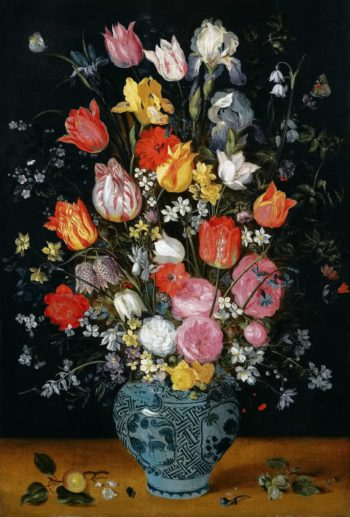 Flowers in a Vase | Jan Brueghel II (the Younger) | oil painting