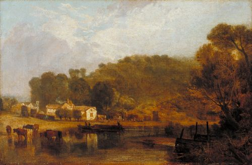 Cliveden on Thames | Joseph Mallord William Turner | oil painting