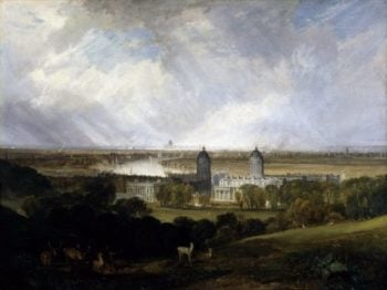 London from Greenwich Park exhibited | Joseph Mallord William Turner | oil painting