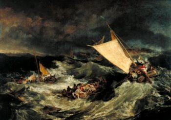The Shipwreck | Joseph Mallord William Turner | oil painting